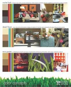 цветовые решения интерьера