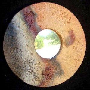 зеркало из керамики