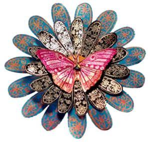 бабочка роспись узоры