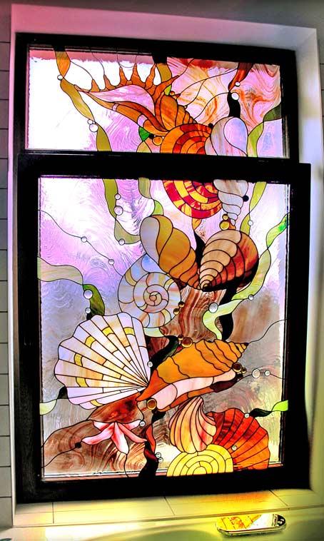 витраж витражными красками роспись по стеклу