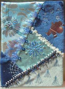 вышивка бисером и шелком