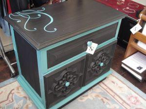 роспись мебели тумба