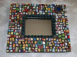 зеркало с мозаикой