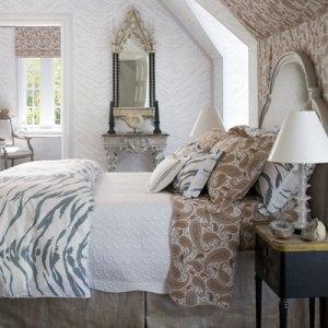 спальня интерьер в английском стиле