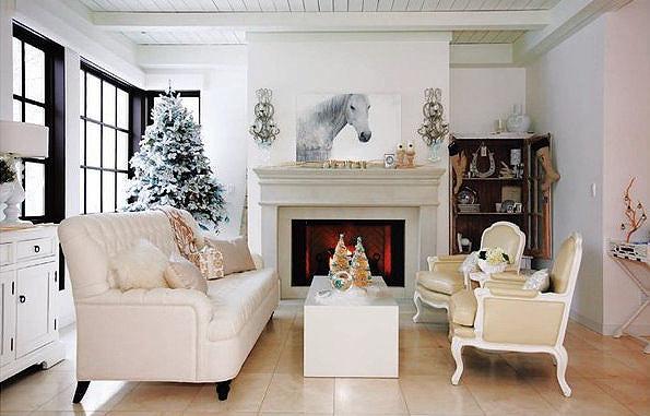 новогодний интерьер и декор