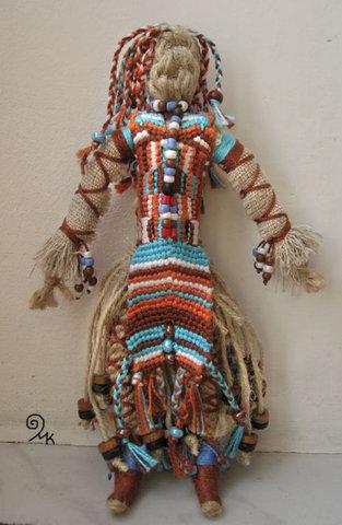 куклы в сплетенные макраме своими руками handmade