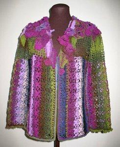 одежда крючком в стиле фриформ