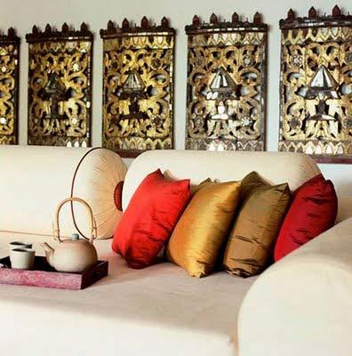 индийский интерьер декор