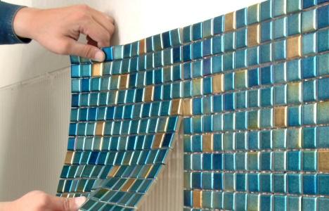 Как ложить мозаику из плитки своими руками