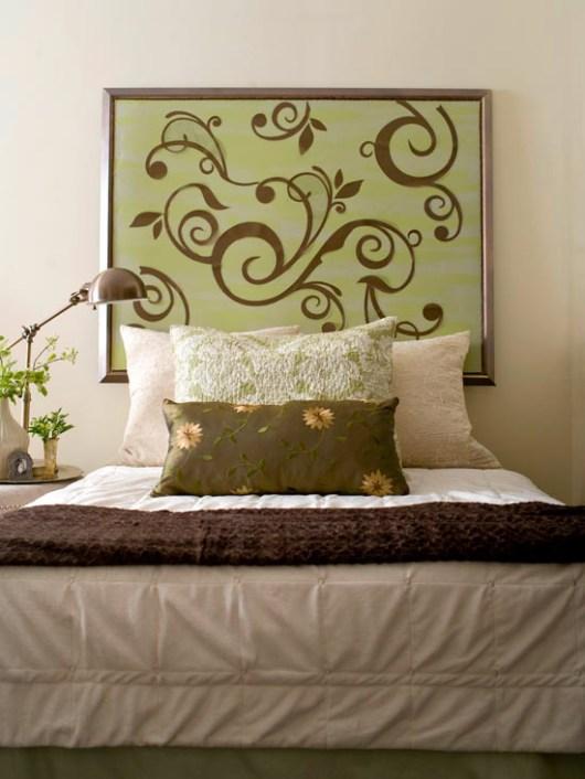 декор изголовья кровати