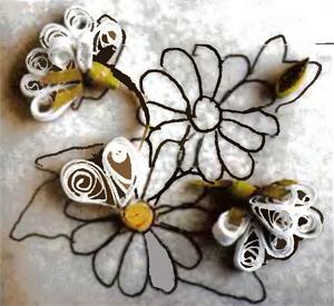 Изготовление цветов в технике квиллинг-10