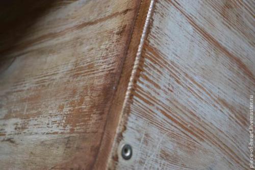 Покраска мебели - декор комода из ИКЕИ 7