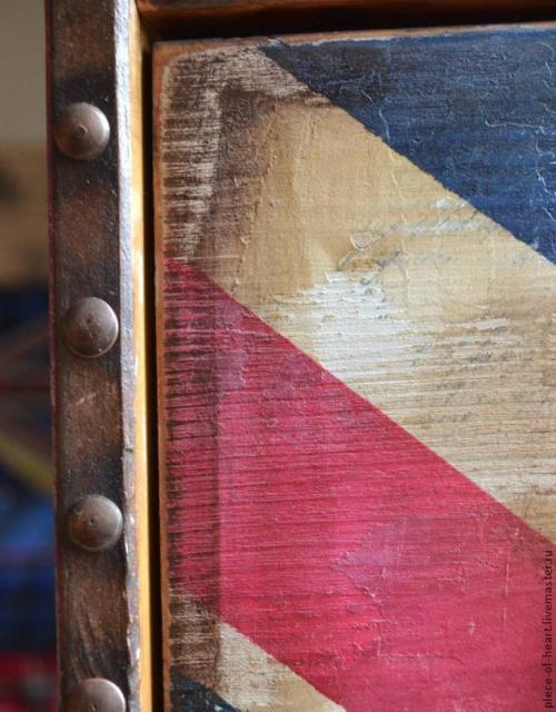 Покраска мебели - декор комода из ИКЕИ 8