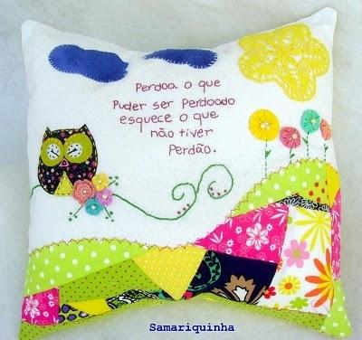Идея подушки в зеленой гамме