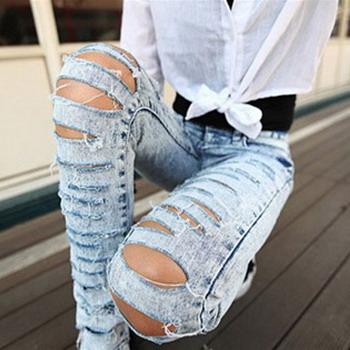 Как порезать джинсы красиво