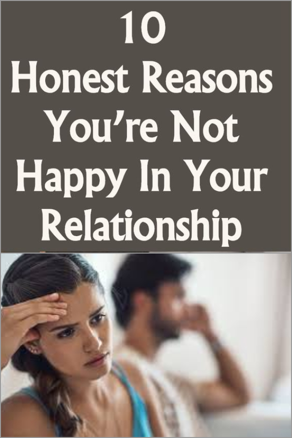 when you re not happy in a relationship