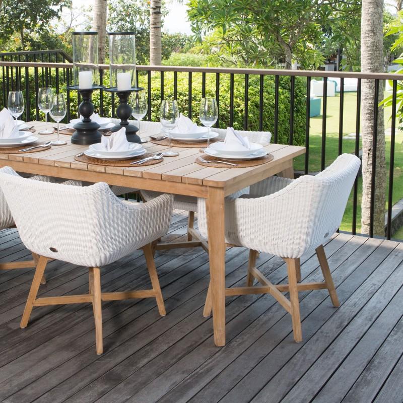 fauteuil collection pob mobilier exterieur haut de gamme sky line design