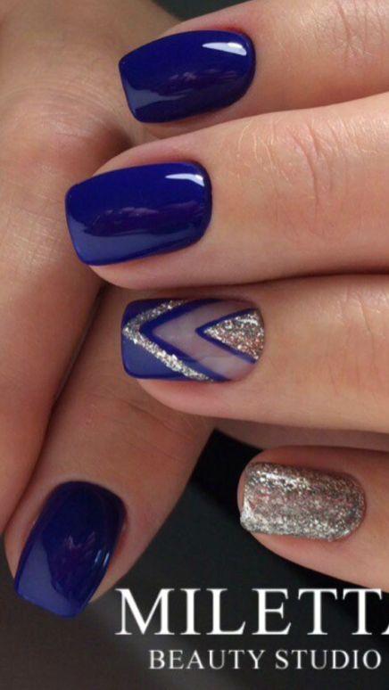 azul-uñas