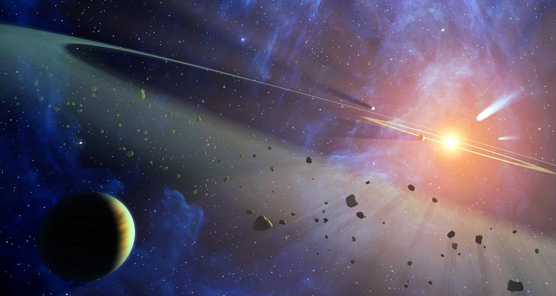 Origen Sistema Solar