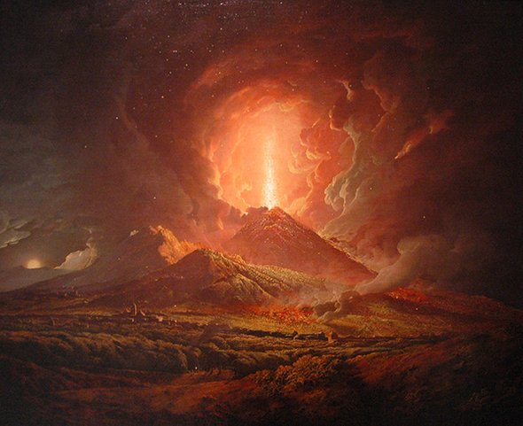Vesuvius Volcano Eruption
