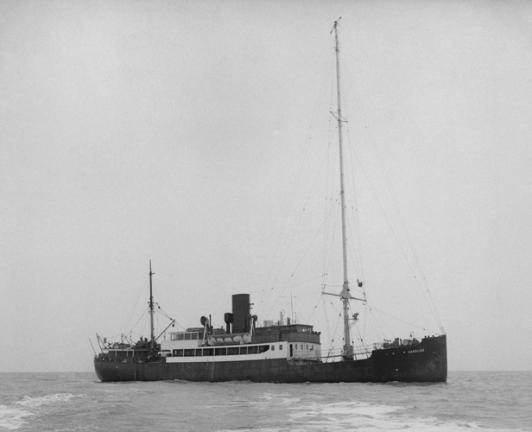 Ship used to broadcast Radio Caroline 1964