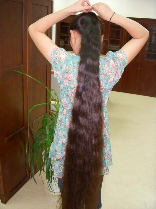 Calf Length Long Hair Show ChinaLongHaircom