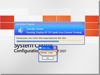The UI After Windows Setup
