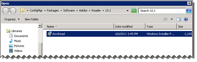 ConfigMgr Application Package Recipes – Adobe Reader X - ConfigMgrFTW!