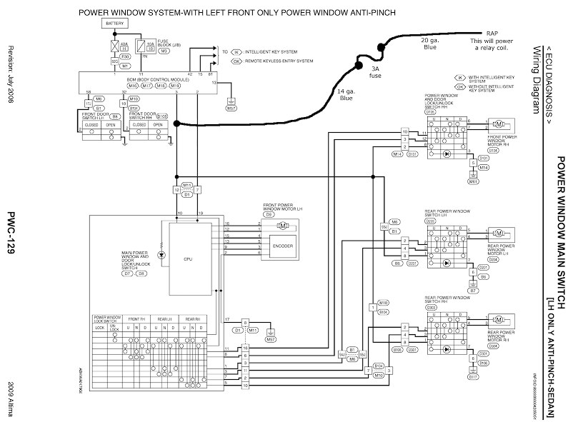 2007 Nissan Sentra Horn Wiring Diagram - Wiring Diagram