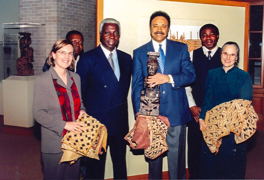 Kuba King and Dr. Harvey