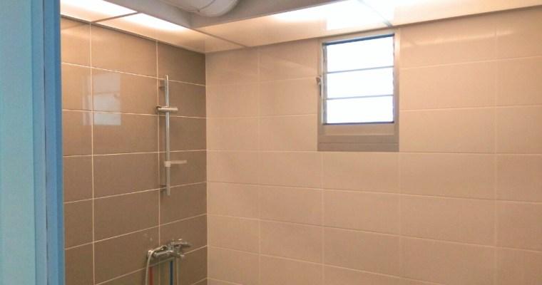 HDB BTO Toilet Acrylic and Lighting