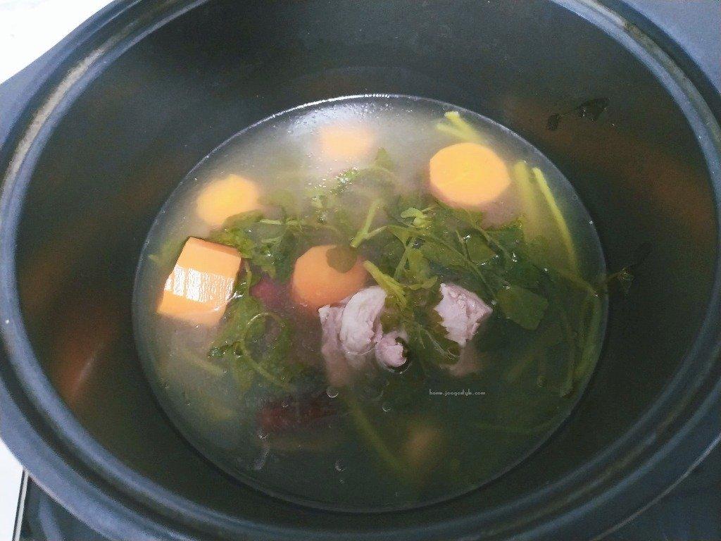 Watercress Pork Soup