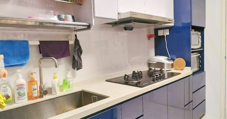 Kitchen Cabinets Design for HDB Flats