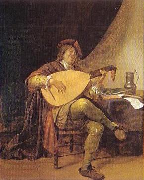 Jan Steen (1626-1665) Self portrait