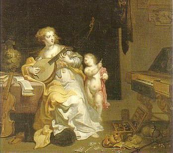 Theodoor van Thulden (1606-1669) Allegory on Vice