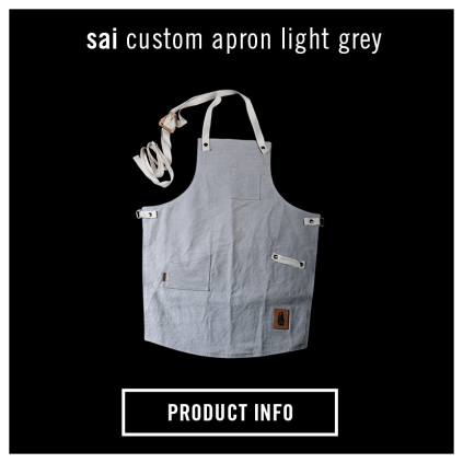 La Marzocco Home SAI Apron Light Grey