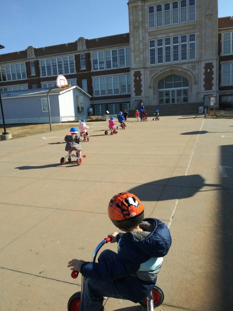 Bike safety to school - Chris Christensen