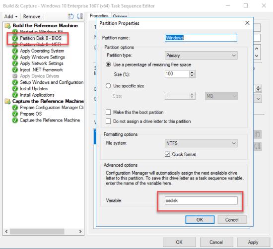 Partition Disk 0 - BIOS