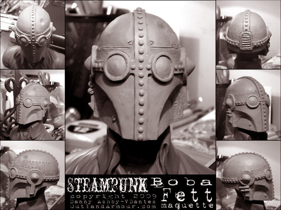 Steampunk_Boba_Fett_Maquette_by_VladislausDantes