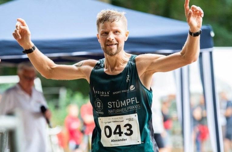 Alex Sellner gewinnt Leipziger 100-km-Lauf