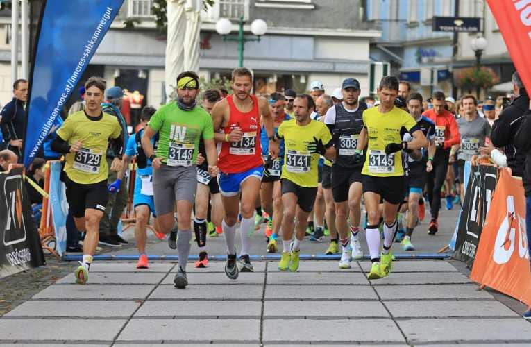 Marco Bscheidl gewinnt Salzkammergut Marathon
