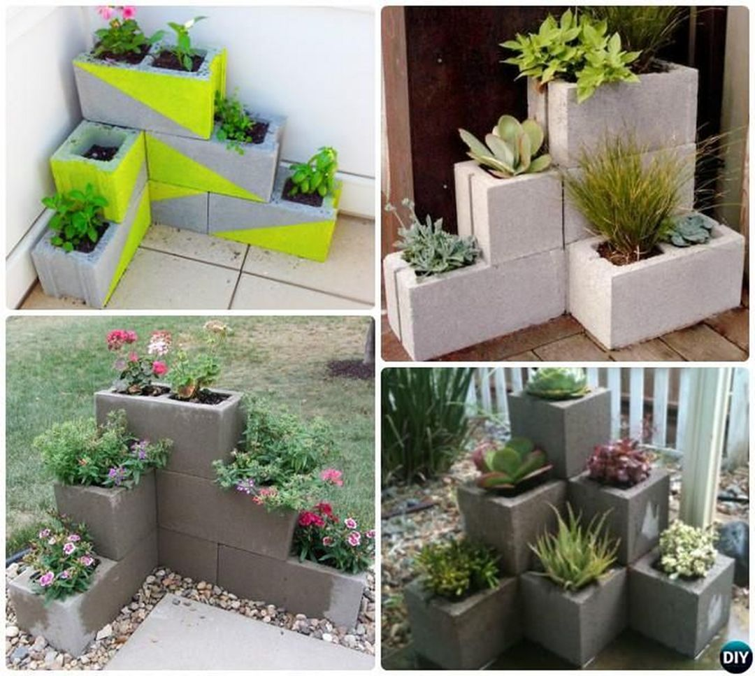 Easy And Inexpensive Cinder Block Garden Ideas 06370