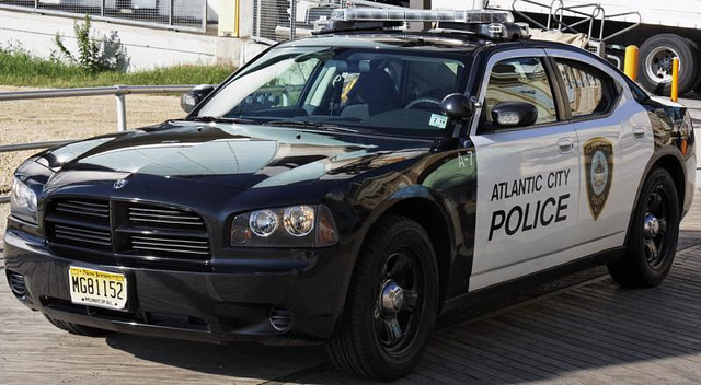 Atlantic city police cruiser