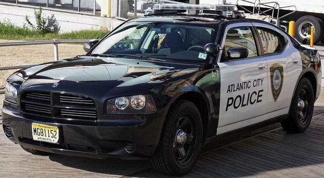 Atlantic city police cruiser