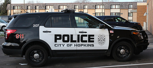 police city of Hopkins cruiser