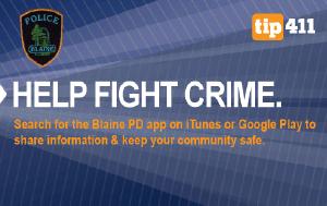 Blaine PD app