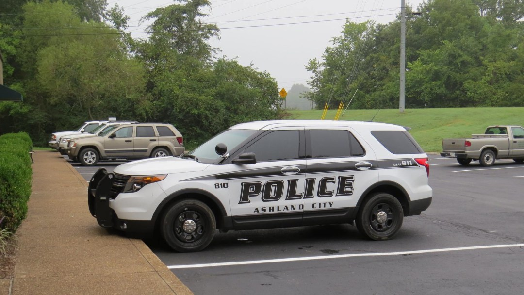 Ashland City police cruiser