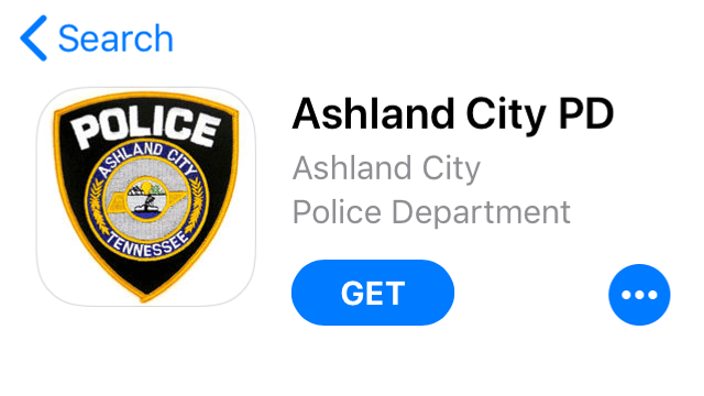 Ashland City Police new logo