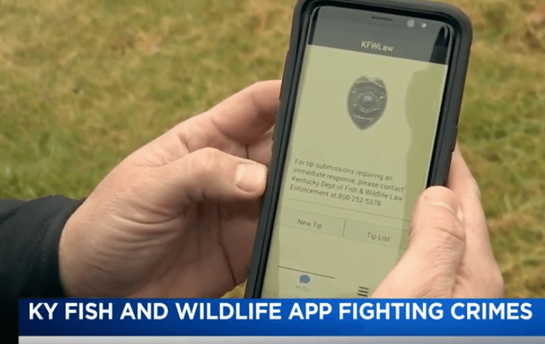 KY Fish and Wildlife App Fighting Crime Tip411