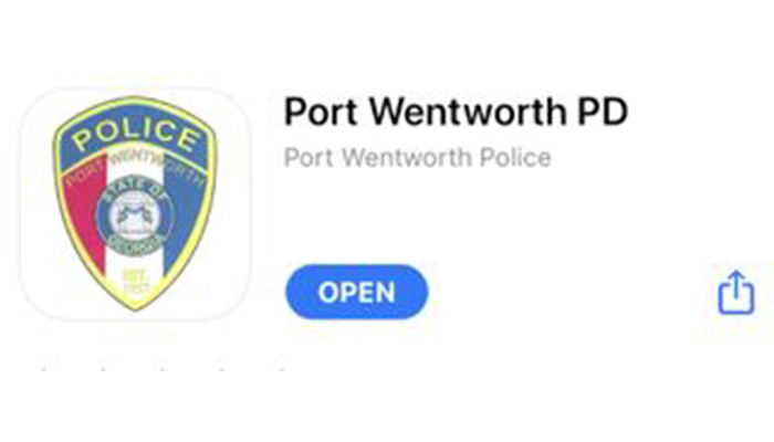 Port Wentworth PD iPhone Application